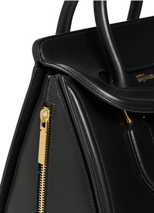 Detail View - Click To Enlarge - Alexander McQueen - 'Heroine' large leather tote