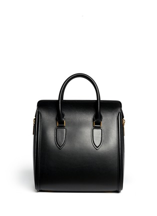 Back View - Click To Enlarge - Alexander McQueen - 'Heroine' large leather tote