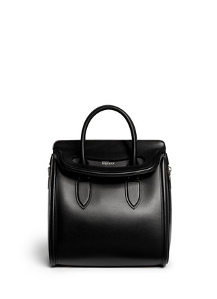 Main View - Click To Enlarge - Alexander McQueen - 'Heroine' large leather tote