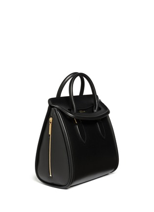 Figure View - Click To Enlarge - Alexander McQueen - 'Heroine' large leather tote