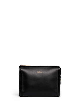 Alexander McQueen - 'Heroine' leather cosmetic case