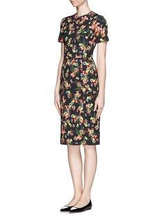 ERDEMGarden Floral print sheath dress