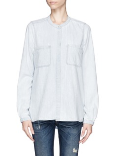 VINCE Chambray button down shirt