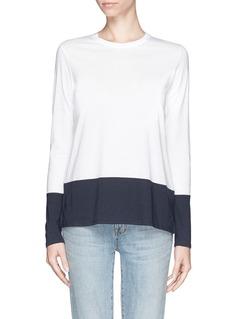 VINCEColour-block T-shirt