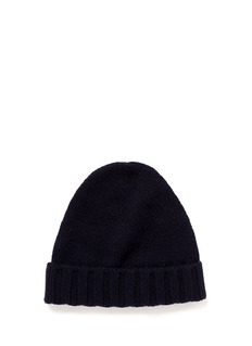 INCOTEXCashmere rib knit beanie