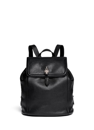 ALEXANDER MCQUEEN - 'Padlock' leather backpack