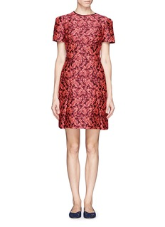 ERDEM Aubrey floral jacquard dress