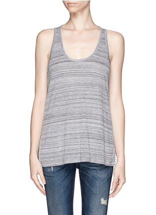 VINCE - Stripe racer back tank top