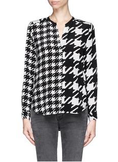 SANDROCheck blouse