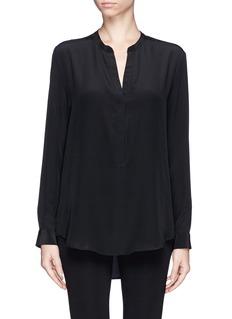 SANDROSilk crepe de Chine blouse