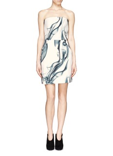 MAJE 'Geisha' Smoke Print Dress