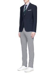 LardiniCotton-flax jersey pants
