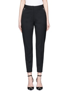 Alexander Wang  Side zip cropped tailored pants