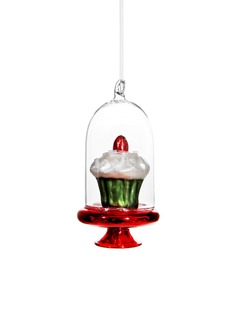 Shishi As Cupcake dome Christmas ornament