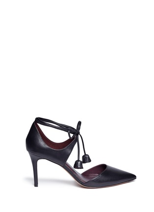 COACH - 'Shae' leather lace-up d'Orsay pumps