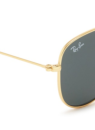 Detail View - Click To Enlarge - Ray-Ban - 'Aviator Junior' mirror sunglasses