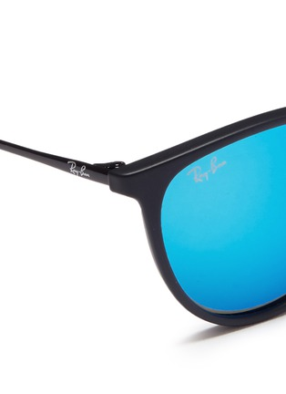 Detail View - Click To Enlarge - Ray-Ban - 'Izzy' metal mirror kids sunglasses