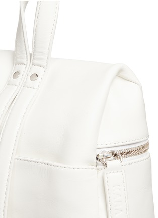 Detail View - Click To Enlarge - Kara - Small leather backpack