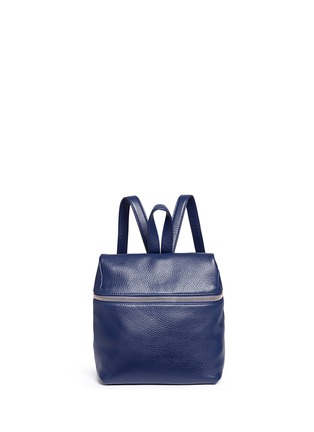 Main View - Click To Enlarge - Kara - Small pebbled leather backpack