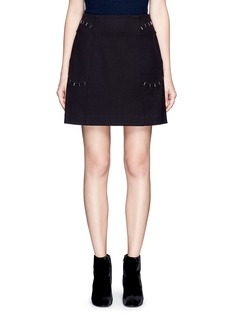 3.1 Phillip Lim Stapled pocket A-line skirt
