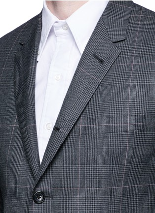 Thom Browne - Glen plaid hairline overcheck wool suit