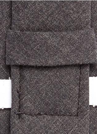 Detail View - Click To Enlarge - Thom Browne - Wool tie