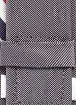 Signature stripe jacquard tie