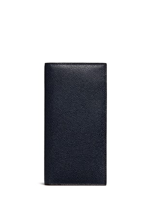 Valextra - Vertical leather wallet