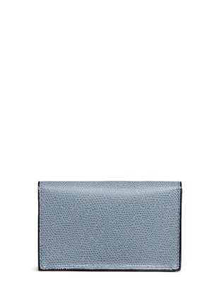 Figure View - Click To Enlarge - Valextra - Leather card case