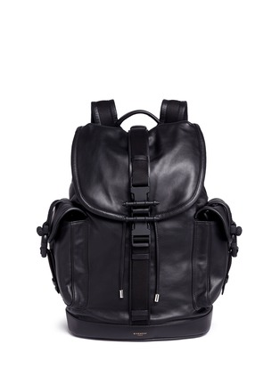 Main View - Click To Enlarge - Givenchy - 'Obsedia' leather backpack