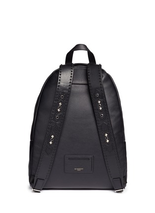 Back View - Click To Enlarge - Givenchy - 'Ci' stud leather backpack