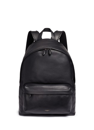 Main View - Click To Enlarge - Givenchy - 'Ci' stud leather backpack
