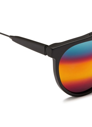 细节 - 点击放大 - SUPER - GIAGUARO中性款哑光圆框太阳眼镜