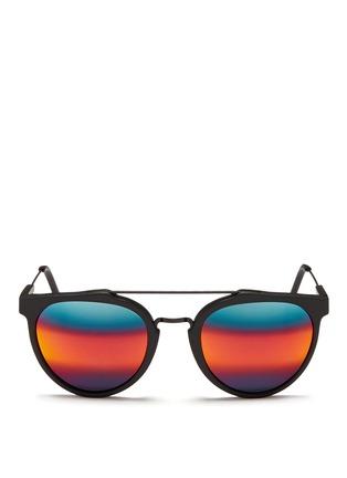首图 - 点击放大 - SUPER - GIAGUARO中性款哑光圆框太阳眼镜
