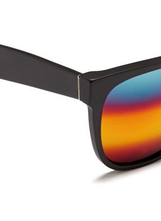 细节 - 点击放大 - SUPER - CLASSIC中性款哑光板材方框太阳眼镜