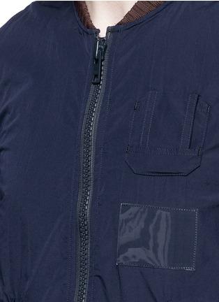 细节 - 点击放大 - KOLOR - MA-1款飞行员夹克