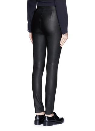Theory-'Adbelle L' leather leggings