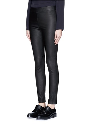 Front View - Click To Enlarge - Theory - 'Adbelle L' leather leggings
