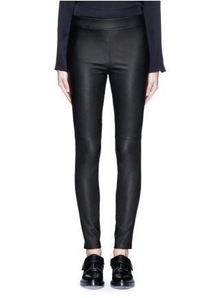 Main View - Click To Enlarge - Theory - 'Adbelle L' leather leggings