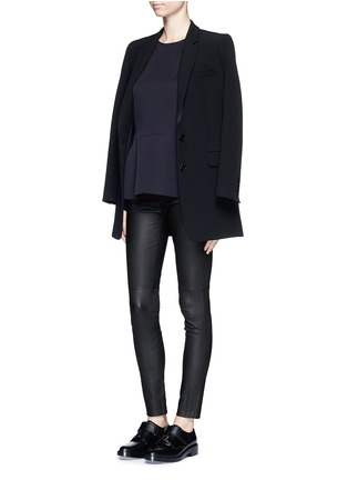 Figure View - Click To Enlarge - Theory - 'Adbelle L' leather leggings