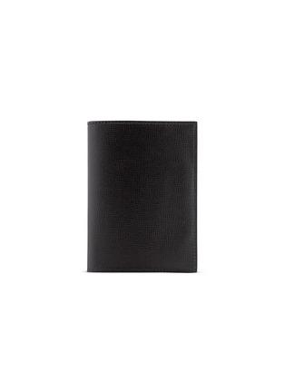 Valextra-Leather passport holder