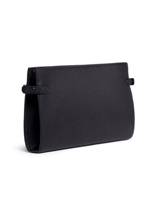 Valextra - Leather travel accessories case