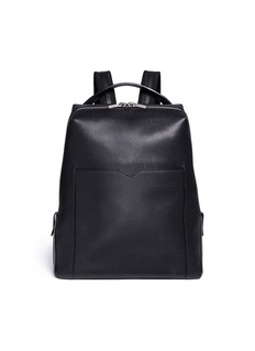 Valextra 'V Line' leather backpack
