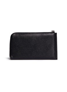 Valextra Leather travel wallet