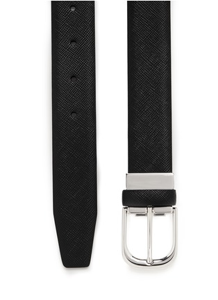 GIORGIO ARMANI - Saffiano leather belt