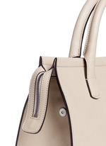 Saffiano leather shopper tote