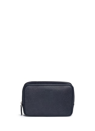 Main View - Click To Enlarge - GIORGIO ARMANI - Saffiano leather travel clutch