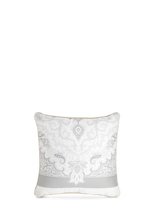 Main View - Click To Enlarge - Etro - Dawson Whitehorse paisley print cushion