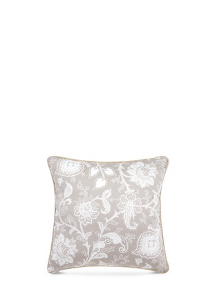 Main View - Click To Enlarge - Etro - Dawson Mackenzie floral print cushion