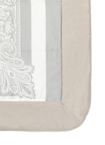 Dawson Whitehorse paisley print king size bed cover